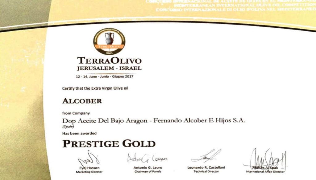 Premio Prestige Gold