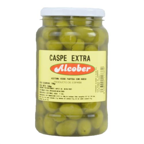 24 Aceituna Caspe Extra 075K