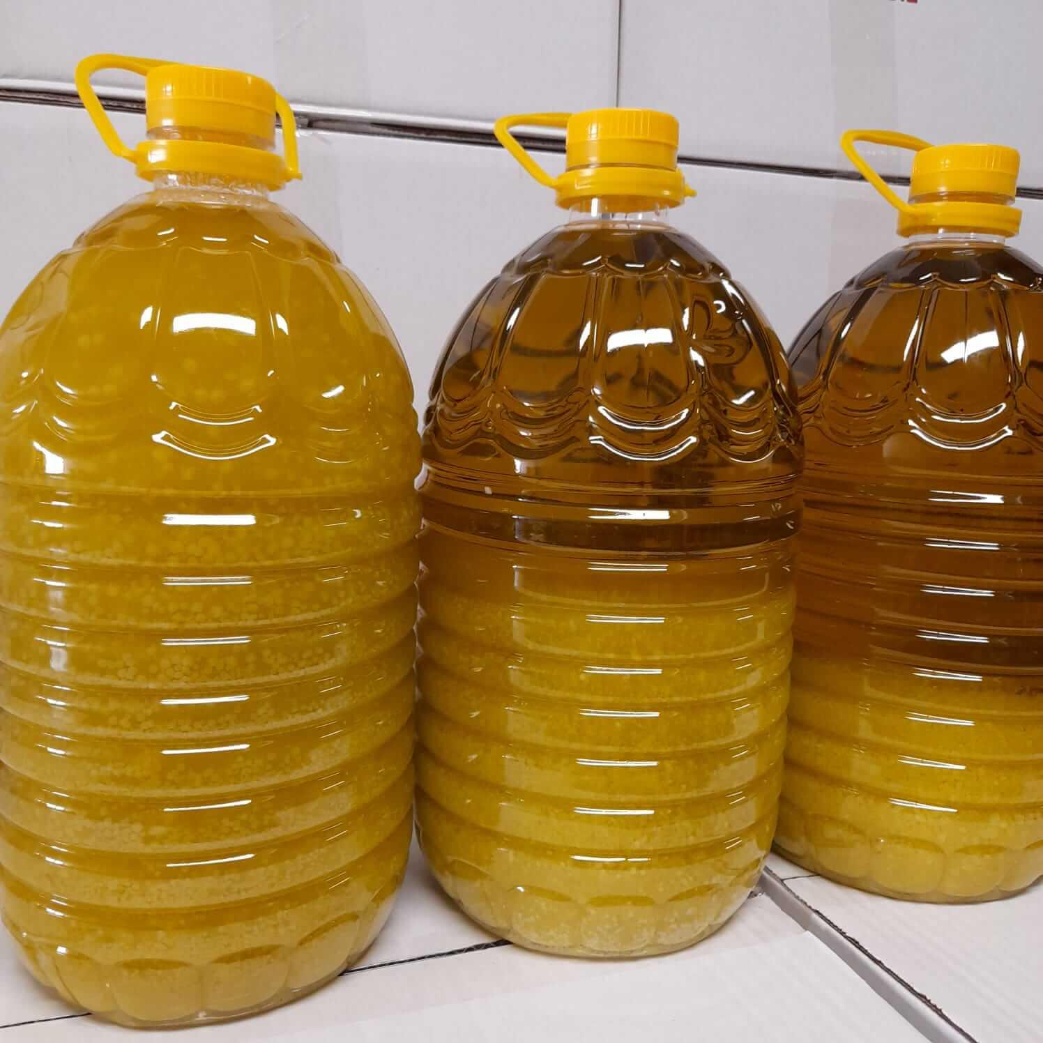 aceite de oliva grumos blancos